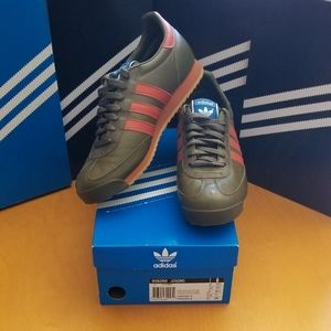 Adidas Originals Olive Orange Men's Size 11